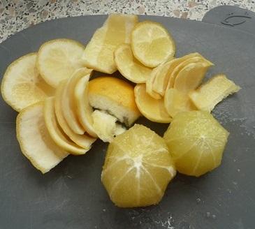 Le poulet rôti n'est happy que si le citron est là!