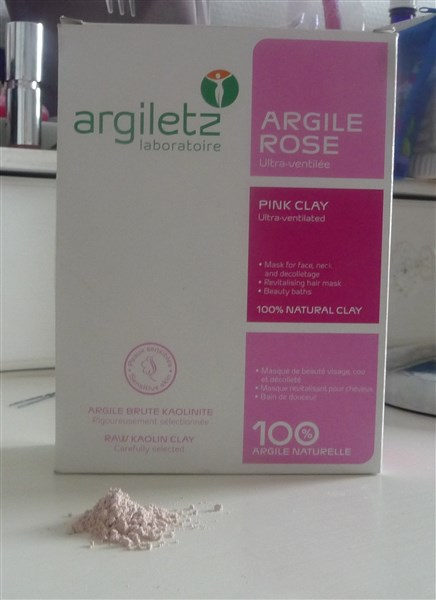 Un masque à l'argile rose...