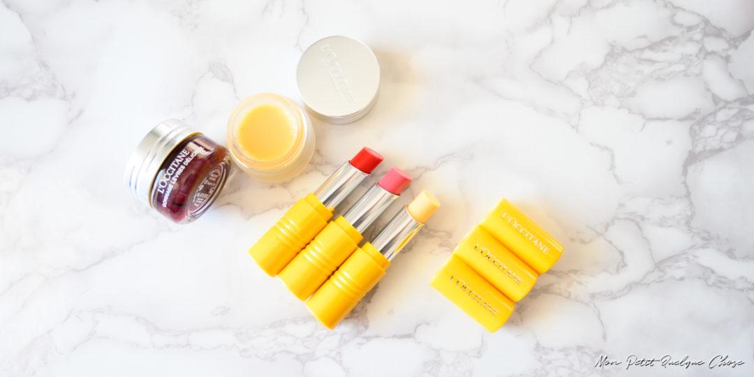 La Collection pour les lèvres Fruits et Vitamine de L'Occitane! - Mon petit Quelque Chose