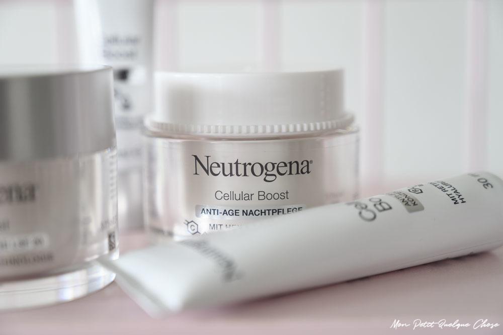 La Gamme Cellular Boost de Neutrogena - Mon Petit Quelque Chose
