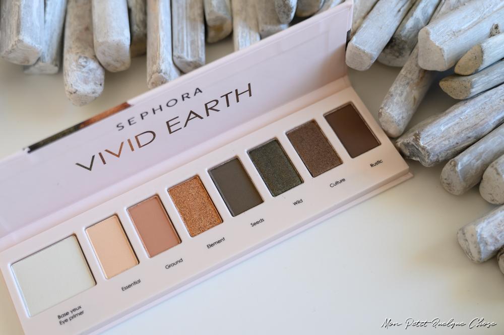 Les palettes Vivid Earth de Sephora pour le teint et les yeux! - Mon Petit Quelque Chose