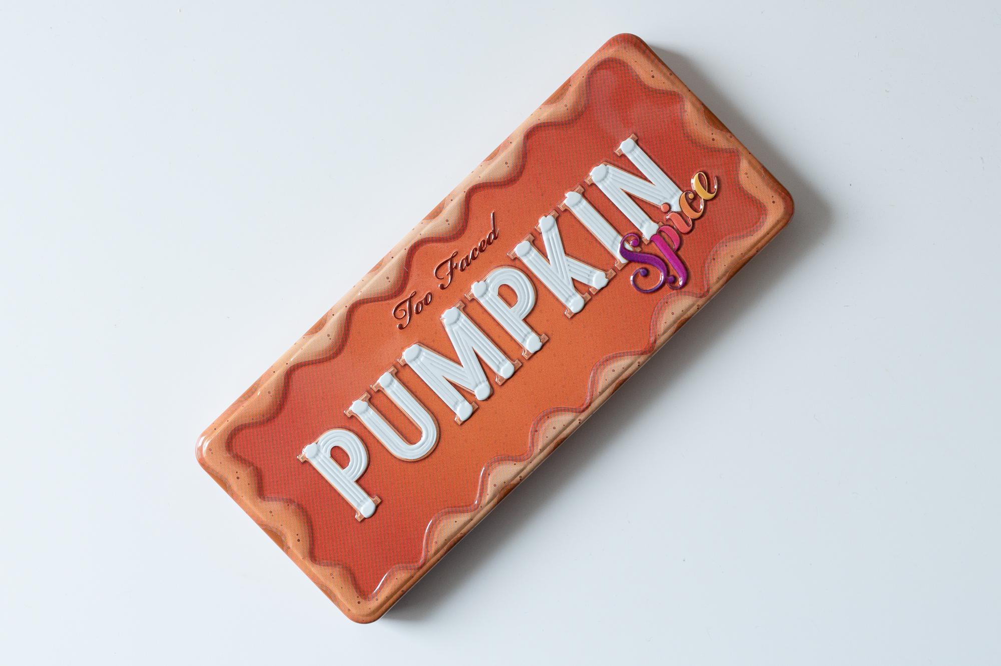 Pumpkin Spice de Too Faced - Mon Petit Quelque Chose