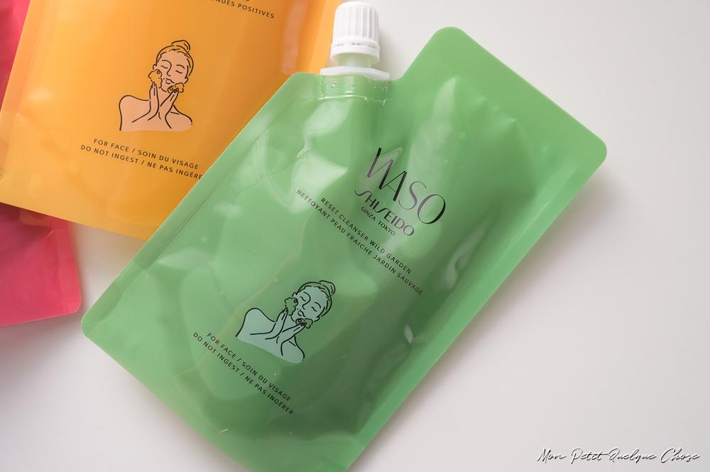 Waso Trio Nettoyant Peau Fraîche de Shiseido - Mon Petit Quelque Chose