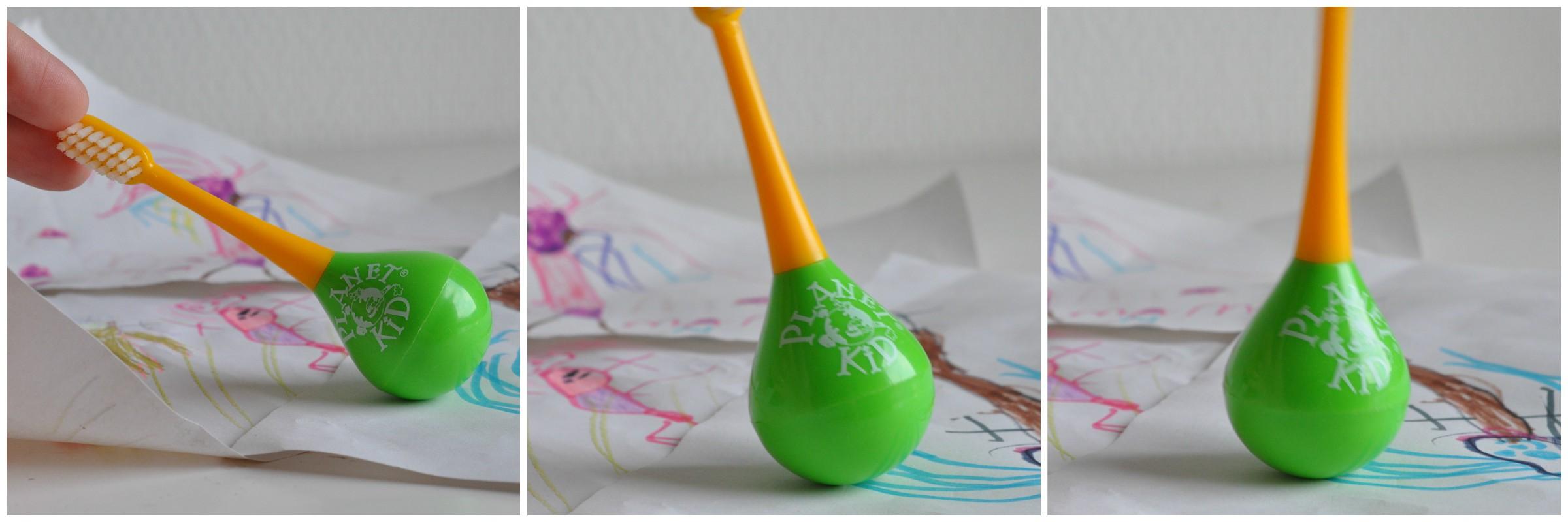 Les Trolettes Testent : La brosse à dent Culbuto de Planet Kid - Mon Petit Quelque Chose
