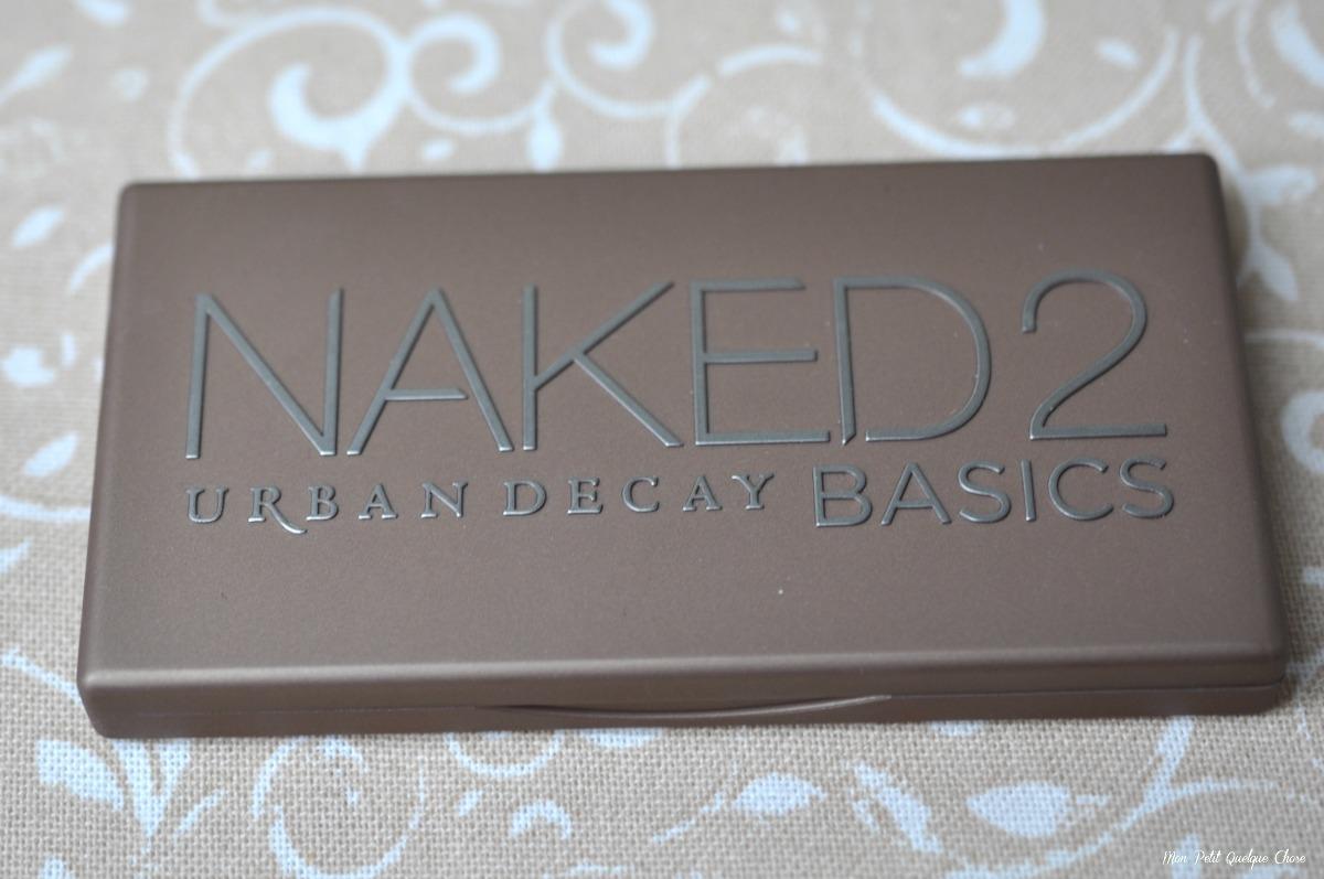 Naked 2 Basics - Urban Decay - Mon Petit Quelque Chose