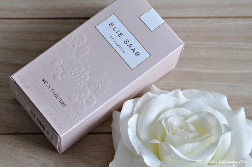Rose Couture d'Elie Saab, mon parfum du moment. - Mon Petit Quelque Chose