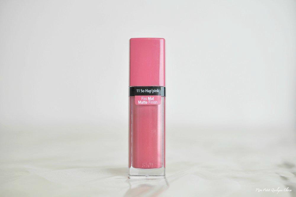 Un joli rouge à lèvres de printemps avec So Hap'pink de Bourjois - Mon Petit Quelque Chose