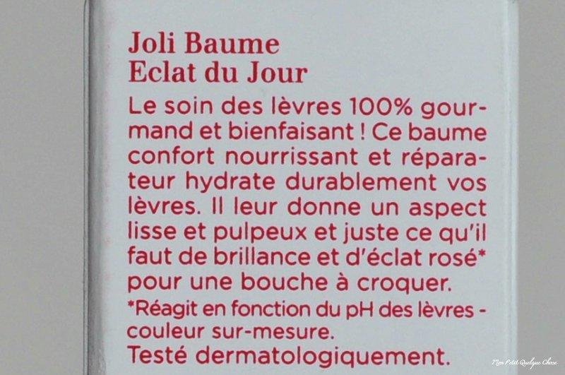 Clarins et son Joli Baume Éclat du Jour - Mon Petit Quelque Chose
