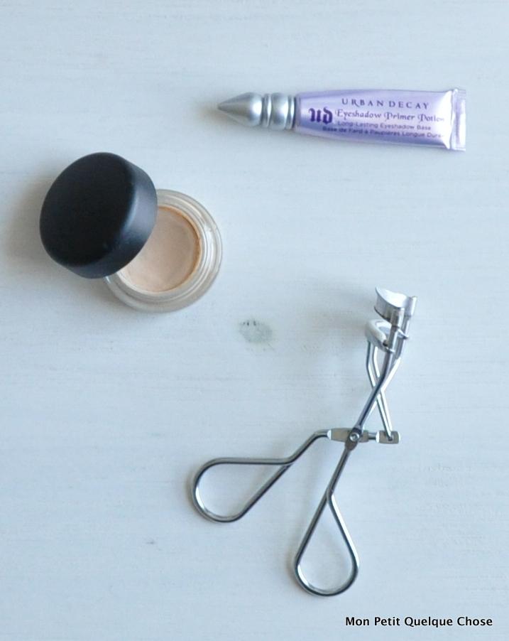 Makeup avec MAC : Urban Decay, Primer Potion Original / MAC, Paint Pot, Soft Ocre
