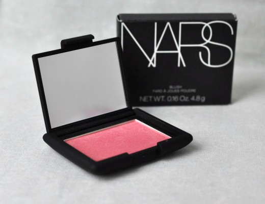 Nars et son blush Orgasm - Mon Petit Quelque Chose