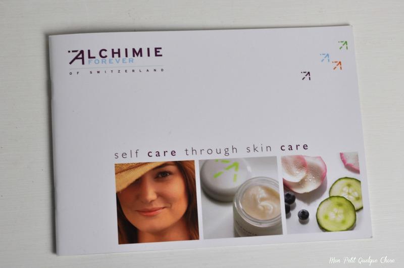 Alchimie Forever et son gommage anti-oxydant-peau de soie, Excimer+, Mon Petit Quelque Chose
