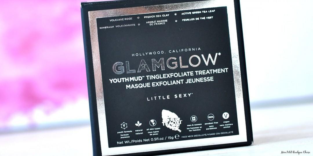 Glamglow, Youthmud, masque exfoliant jeunesse - Mon Petit Quelque Chose