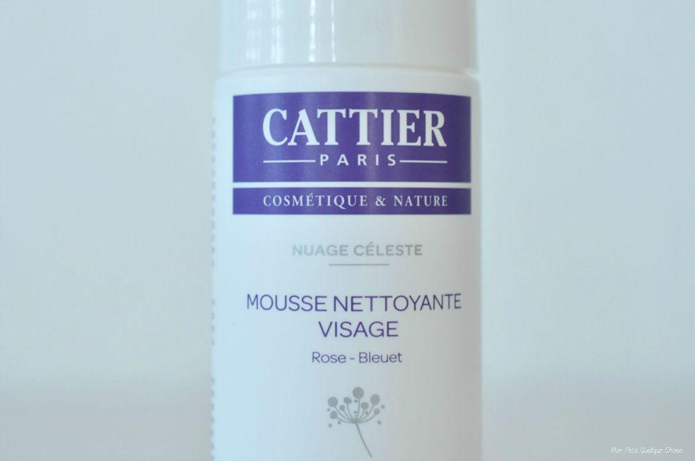 La Mousse Nettoyante pour le visage de Cattier. - Mon Petit Quelque Chose