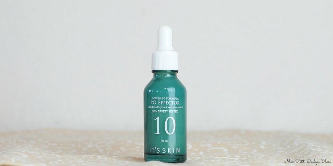 It's Skin, Power 10 Formula Po Effector, un joli sérum pour peau mixtes. - Mon Petit Quelque Chose