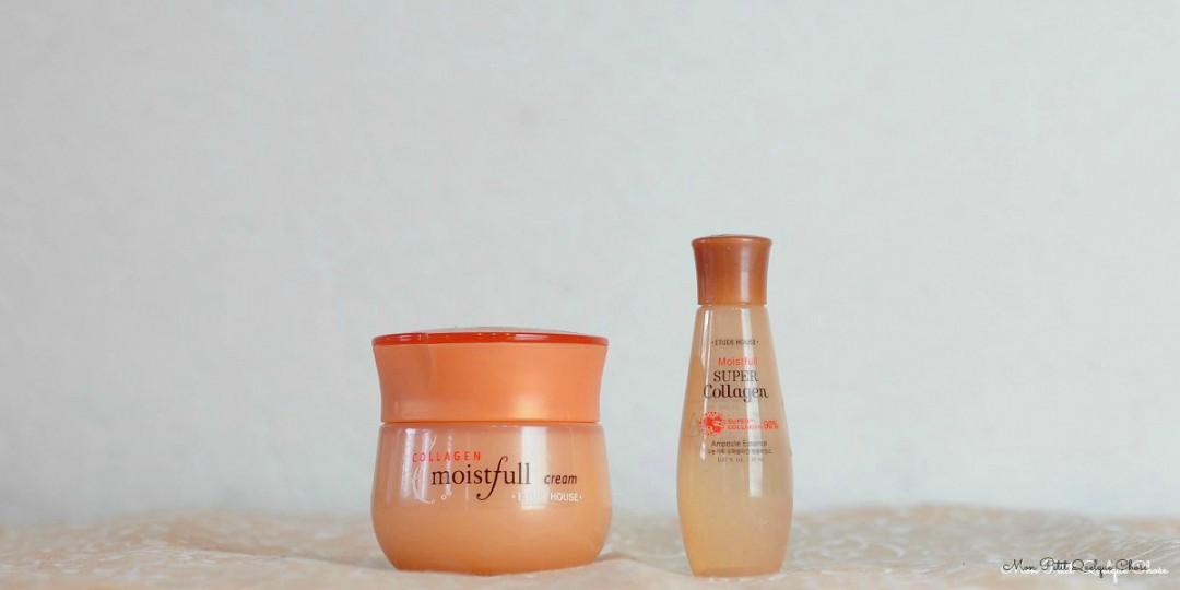 Etude House Collagen Moistfull Cream Set : Parce que le collagène c'est bon pour la peau! - Mon Petit Quelque Chose