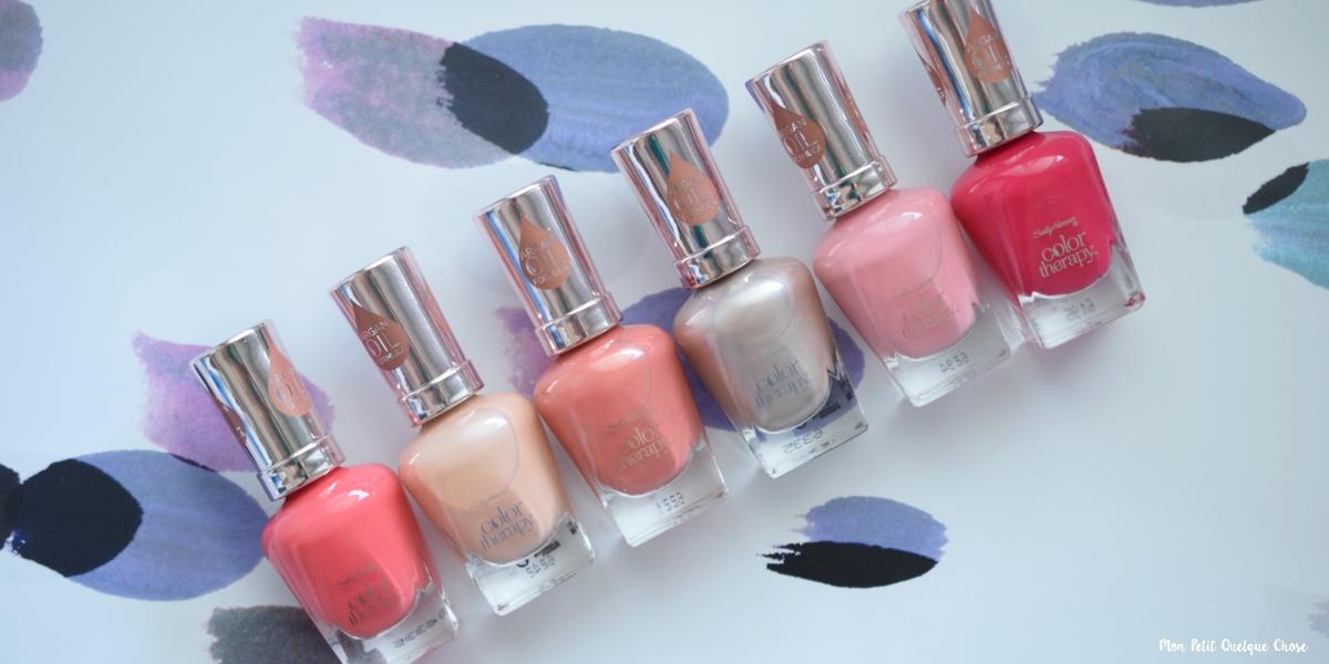 Sally Hansen fête le printemps avec Color Therapy Spring - Mon Petit Quelque Chose