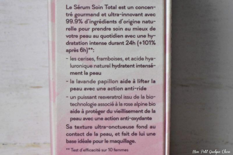 Le Panier des Délices, Sérum Soin Total ; L'Alpage-Mon Petit Quelque Chose