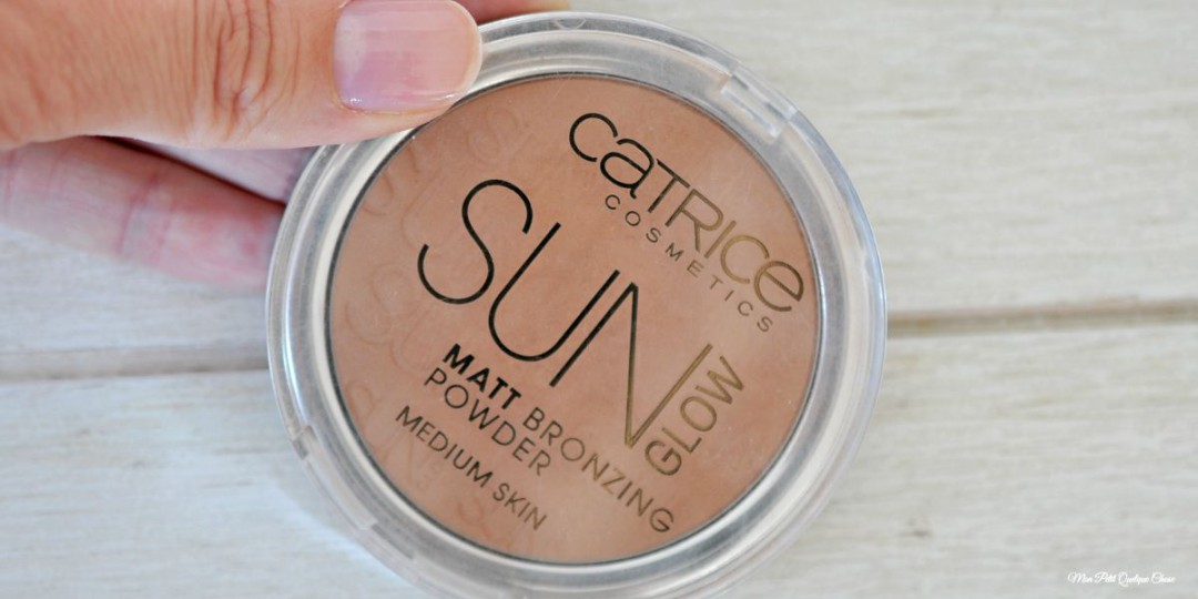 Le Bronzer Sun Glow de Catrice, petit prix et juste parfait! - Mon Petit Quelque Chose