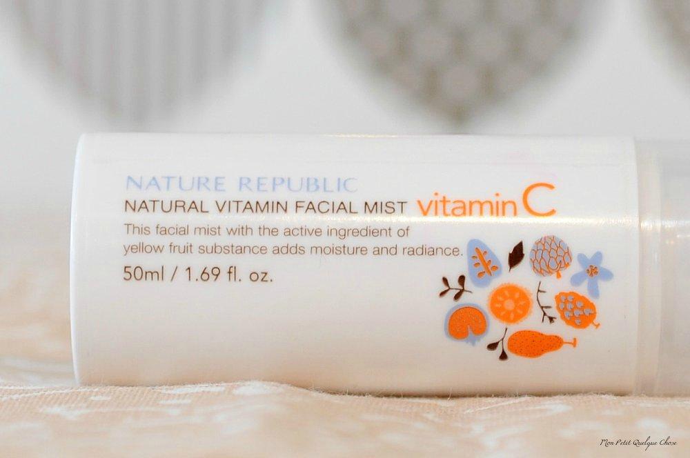 Nature Republic et son spray pour le visage - Mon Petit Quelque Chose