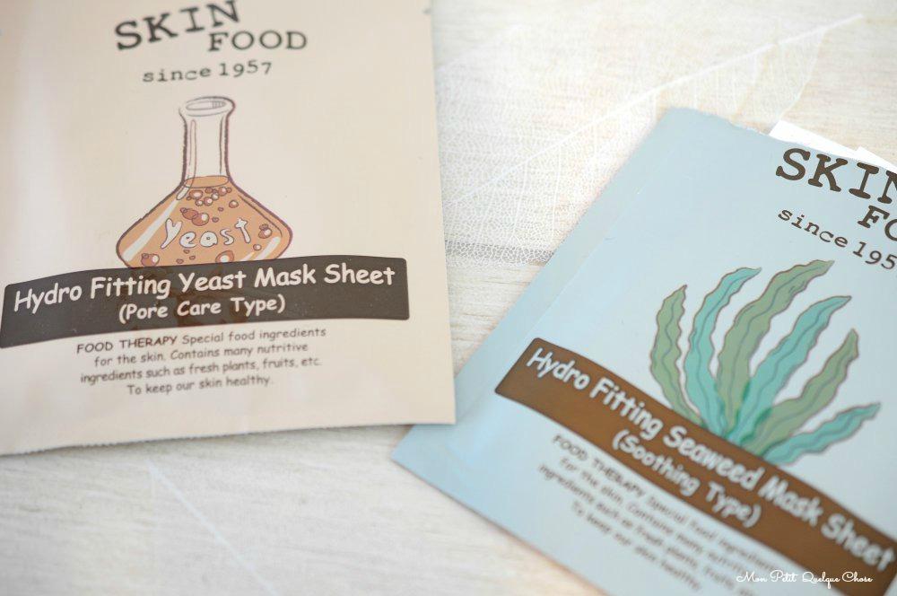 Hydro Fitting Mask de Skin Food : on est pas beau mais qu'est ce qu'on est bien! - Mon Petit Quelque Chose