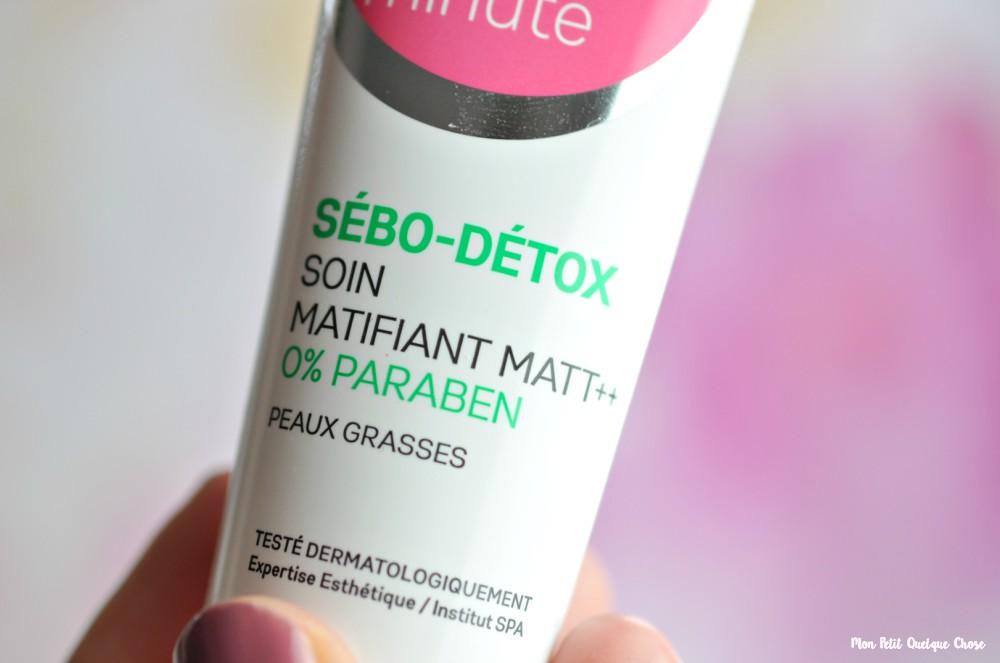 Skin'minute : ma routine-visage matifiante et hydratante - Mon Petit Quelque Chose
