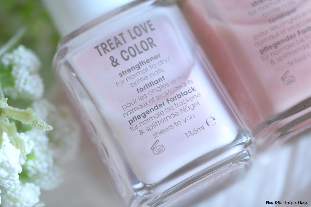 Treat Love and Color, les vernis soins de Essie - Mon Petit Quelque Chose