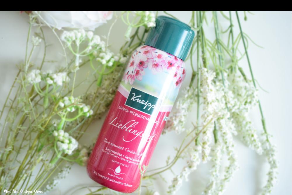 Le Bain Moussant Cerisier en Fleurs de Kneipp - Mon Petit Quelque Chose