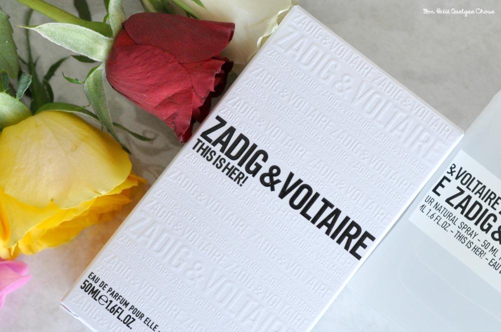 THIS IS HER ! de Zadig et Voltaire - Mon Petit Quelque Chose