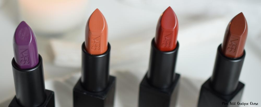 Des couleurs d'automne avec les Audacious Lipsticks! - Mon Petit Quelque Chose