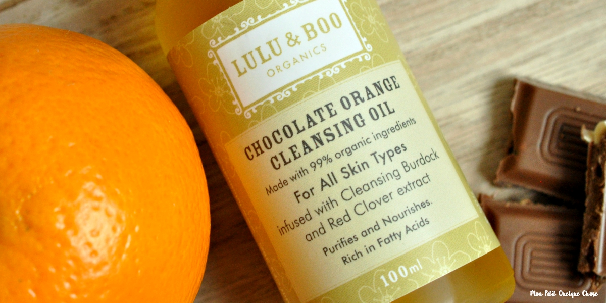 Lulu & Boo, La Chocolate Orange Cleansing Oil - Mon Petit Quelque Chose