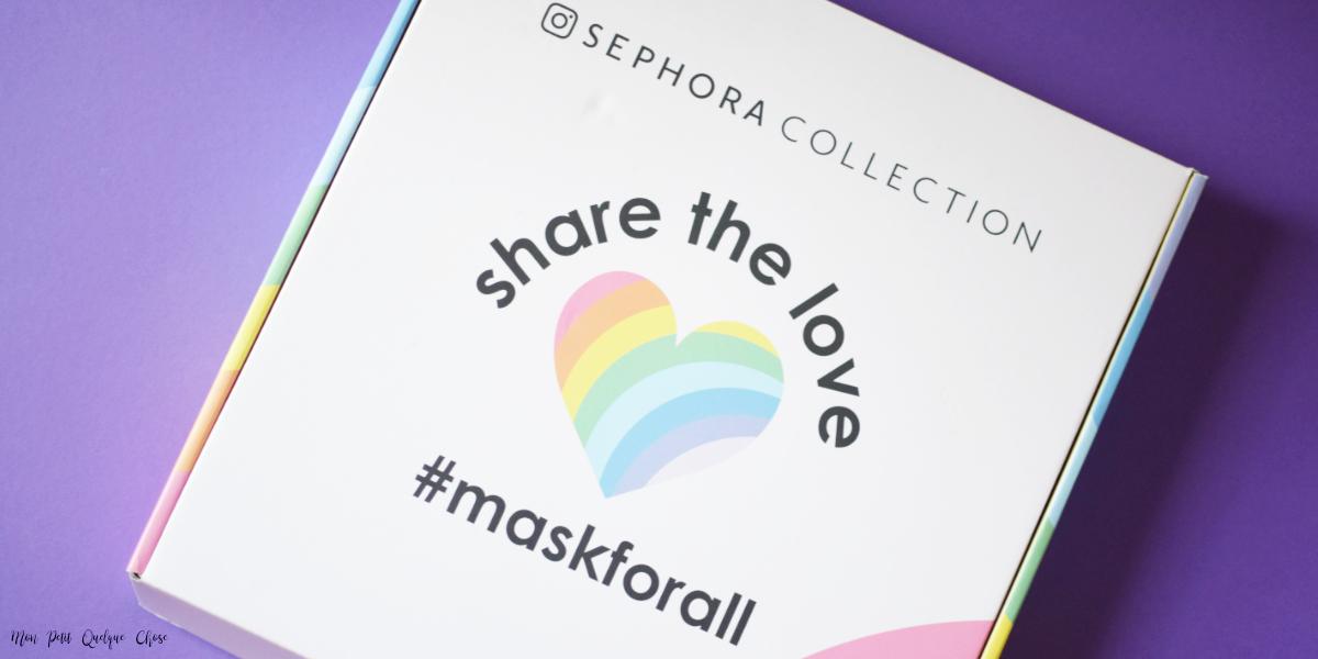 Les Nouveaux Sheet Masks Sephora - Mon Petit Quelque Chose