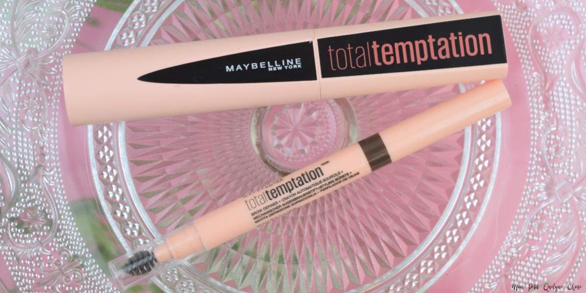 Total Temptation de Maybelline - Mon Petit Quelque Chose