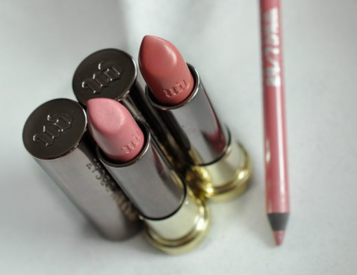 Mes Vice Lipsticks d'Urban Decay : Sheer Liar et Backtalk - Mon Petit Quelque Chose