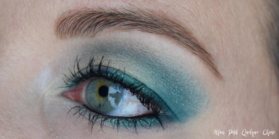 Makeup Coloré pour paupières tombantes - Mon Petit Quelque Chose
