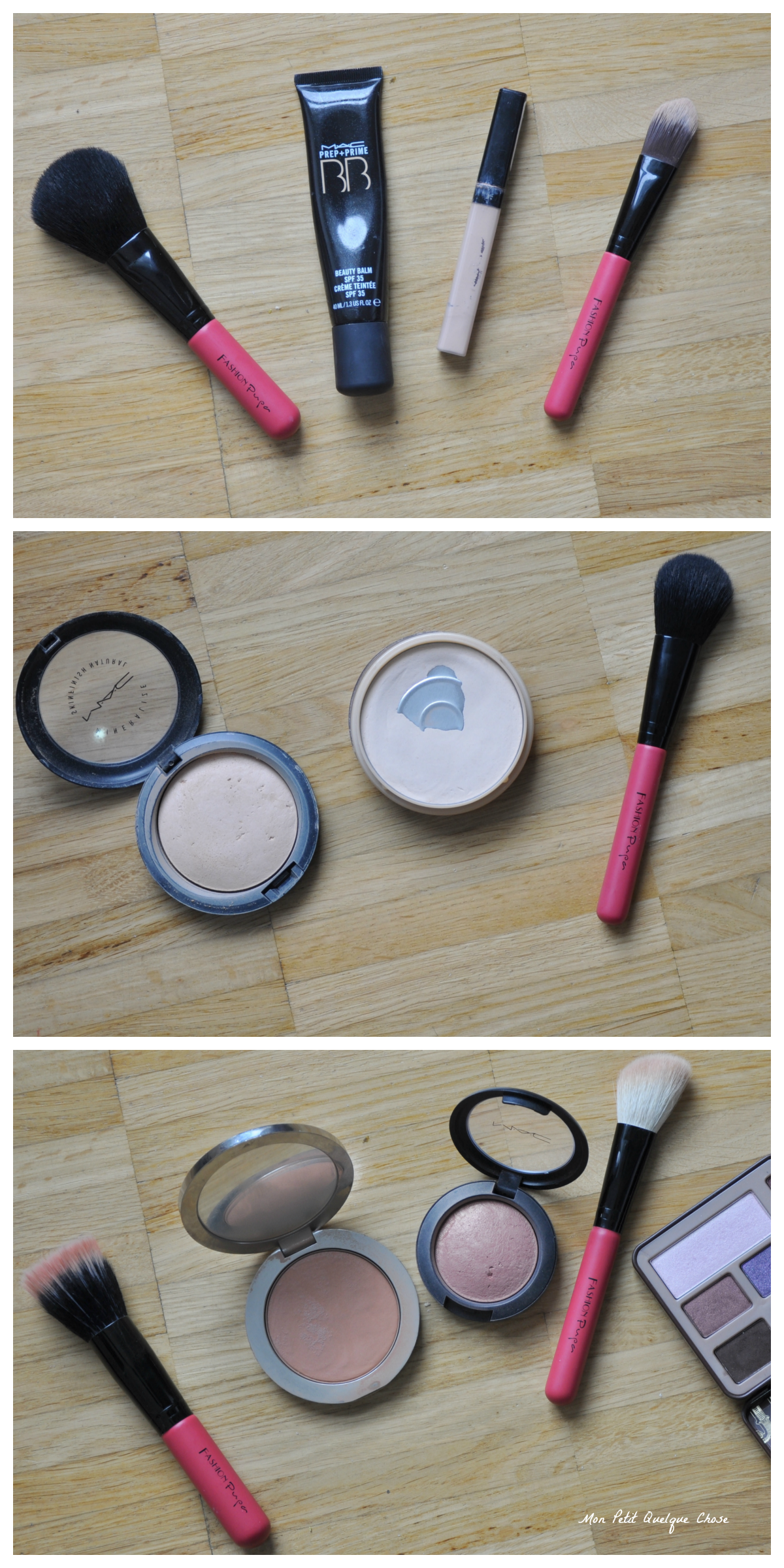 FashionPupa, Sweet Pink Brush Set, Mon Petit Quelque Chose
