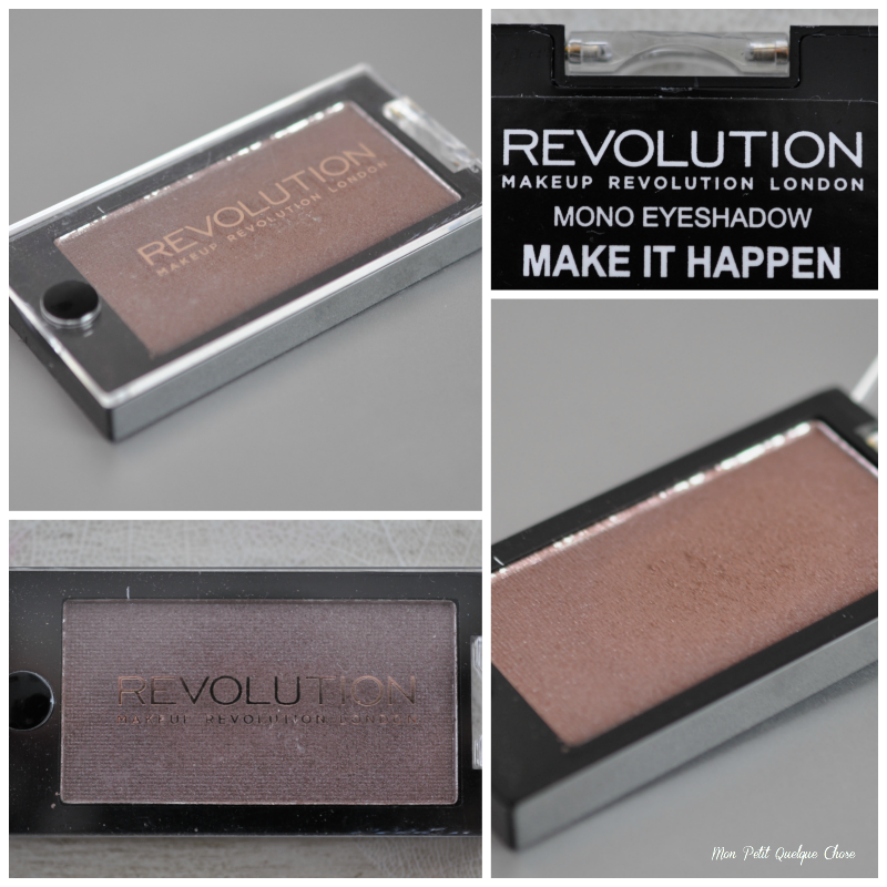Make It Happen et Beyond Eden de MakeUp Revolution - Mon Petit Quelque Chose
