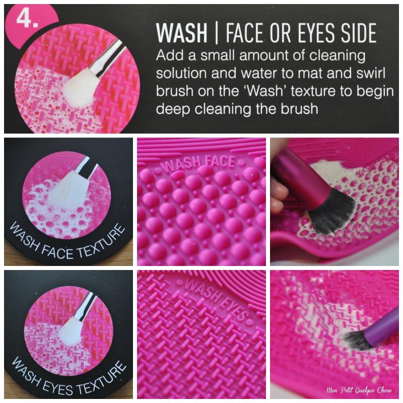 Sigma Spa Brush Cleaning Mat- Mon Petit Quelque Chose