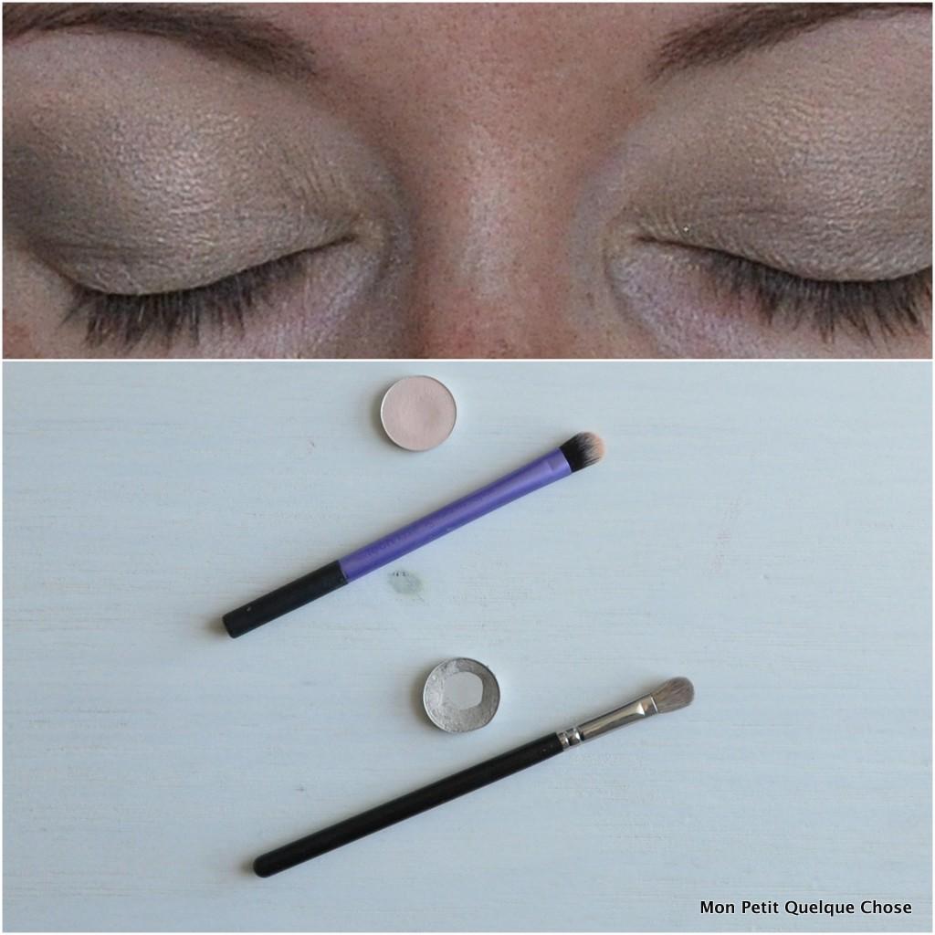 Makeup avec MAC : MAC, Orb / MAC Vex / Domed Shadow Brush / MAC 217