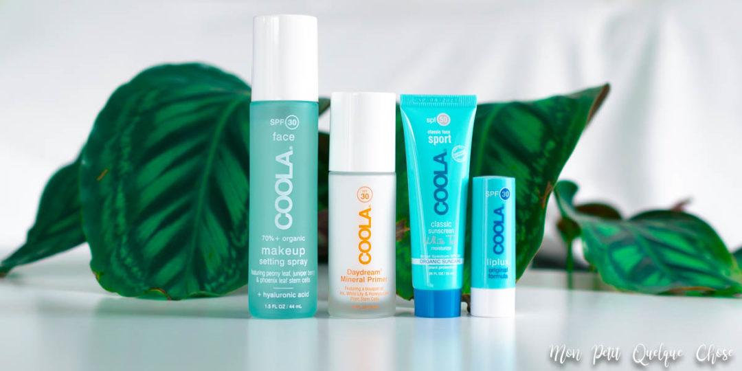Les soins solaires pour le visage de Coola! - Mon Petit Quelque Chose