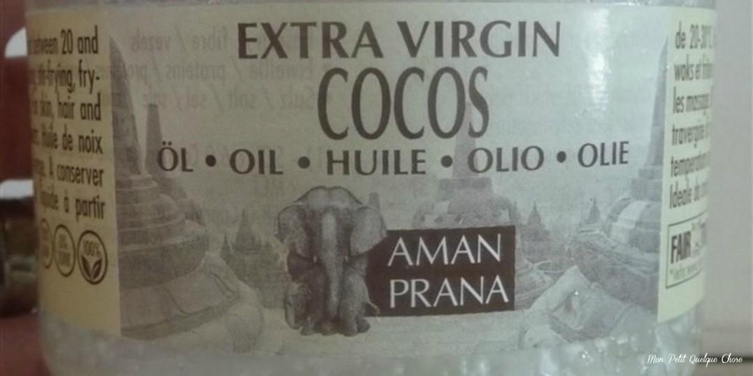 L'huile de coco and me!