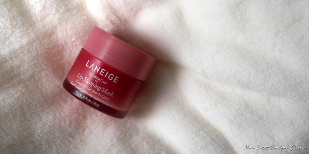 Lip Sleeping Mask de LaNeige - Mon Petit Quelque Chose