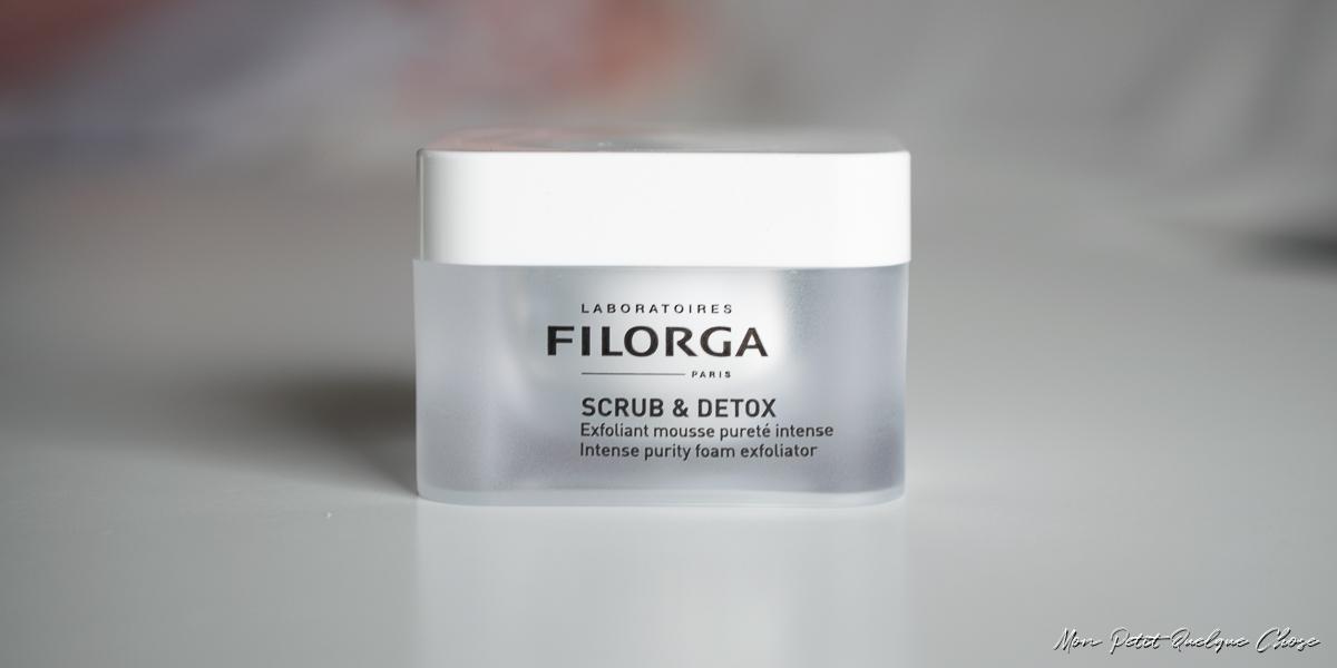 Scrub & Detox de Filorga! - Mon Petit Quelque Chose